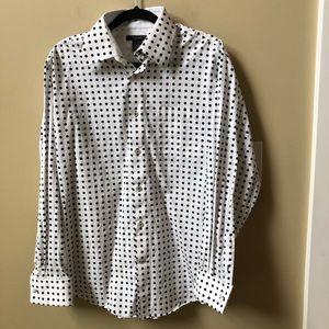 Ceramic shirt men's polka dot shirt